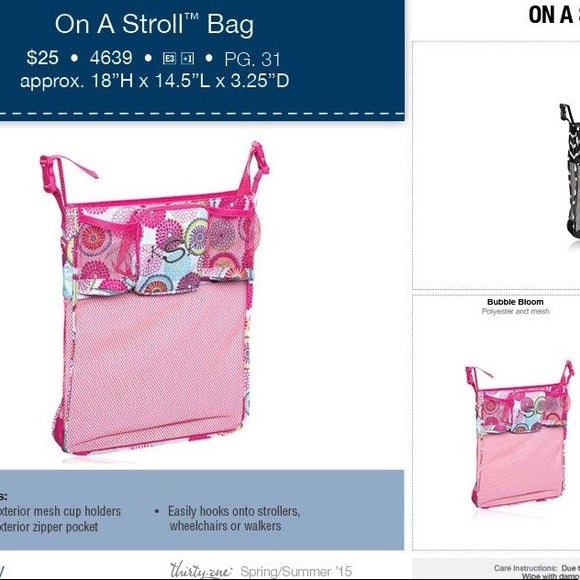On the Stroll Bag  by Thirty-One